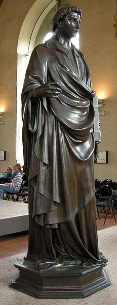 Lorenzo Ghiberti, Santo Stefano, 1427-28, Museo di Orsanmichele, Firenze