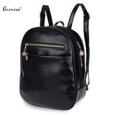 3d492599501f Guapabien 7 Candy Color Women Back Pack Bag Japan Korea Teenage Student  School Travel Bagpack Girls PU Leather Small Backpack(China (Mainland))