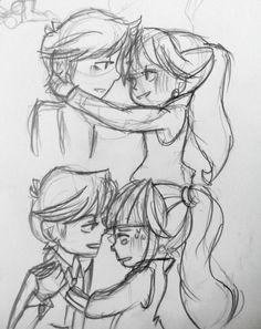 algo en lo que he pensado, algunos bocetos