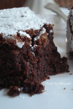 cookin' up north: Low fat brownies Low Fat Brownies, Fudgy Brownies, Healthy Sweets, Healthy Cooking, Cooking Recipes, I Love Food, Good Food, Halloween Treats To Make, Orange Food Coloring