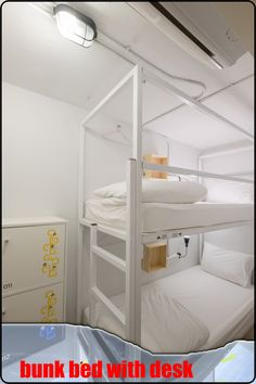 e22129f1dd72a 30 Extraordinary Ideas For Having A Bunk Bed With Desk For Children ...