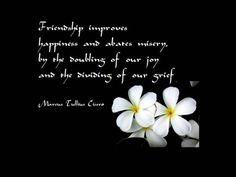 Famous Quotes About True Friendship  Famous Quotes About Friendship