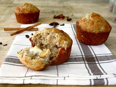 THE best banana nut muffins ever! @Shannon Vandelac this is why we need a KitchenAid mixer!