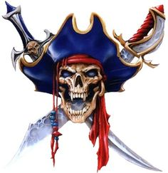 Pirates Create a Vampirate skull Skull Pirate, Pirate Art, Pirate Life, Pirate Ships, Pirate Flags, Pirate Crafts, Bumper Stickers, Laptop Stickers, The Punisher