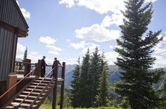Up and Away on a Mountain: The Journey Down the Aisle :  wedding aspen pictures pro pics recap 2 2