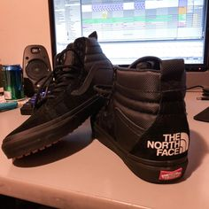 9ed69327a198  PICK UP  Vans x TNF SK8-HI 46 MTE DX (TNF BLACK BLACK) Tried them on at my  Vans store and couldnt say no. Ready for winter now!