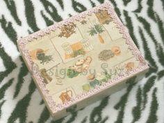 Design by Suzi: Krabica na čaj Decoupage, Tea, Design, Teas