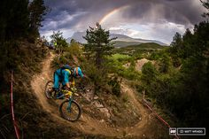 Double rainbows for a rider seemingly on his way to the world champion's stripes... As his rivals faultered, Richie Rude is starting to look unstoppable.