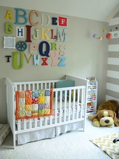 Alphabet Themed Nursery