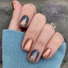 Fancy Nails, Trendy Nails, Diy Nails, Cute Nails, Nail Color Combos, Nail Colors, Thanksgiving Nails, Manicure Y Pedicure, Color Street Nails
