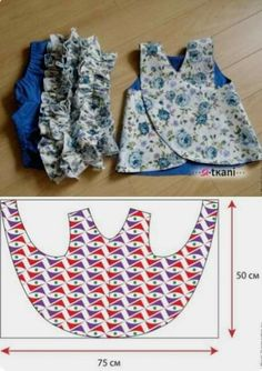 for babies and babies-sewing – - Kindermode Ideen Baby Girl Dress Patterns, Baby Clothes Patterns, Dress Sewing Patterns, Baby Girl Dresses, Baby Outfits, Clothing Patterns, Kids Outfits, Pillowcase Dress Pattern, Toddler Outfits