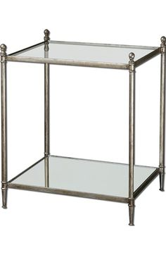 Uttermost 'Gannon' Antiqued End Table available at #Nordstrom