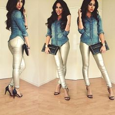 Simple jean outfit!
