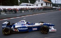 Jacques Villeneuve Williams - Renault Spa 1996