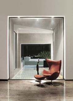 Egg Chair Designed By Arne Jacobsen 1958 At Abu Samra House Amman ChairHome Interior DesignExterior