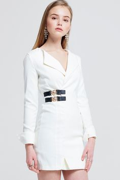 6dc05d19ea0ad Soo Belted Jacket Dress Discover the latest fashion trends online at  storets.com