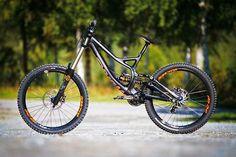 An awesome downhill mountain bike.