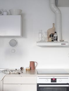 two toned kitchen in light colours d a d a a.: #jouluralli aka little Xmas
