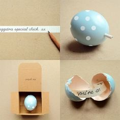 And the egg said, a gorgeous idea and DIY project from Poppytalk