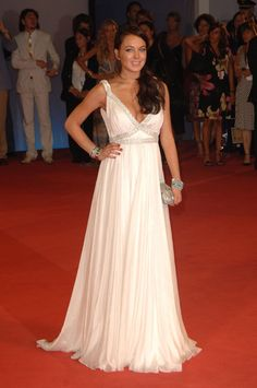 Lindsay Lohan at the 63rd Venice Film Festival in 2006