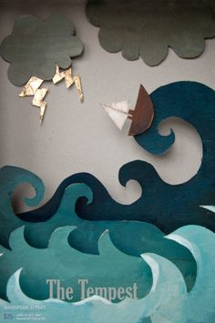 The Tempest. This is gorgeous, whimsical and makes me feel like I'm inside a book. Great for creative, growing minds.