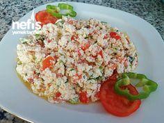 Kahvaltıya Çökelek Salatası HUZUR SOKAĞI (Yaşamaya Değer Hobiler)