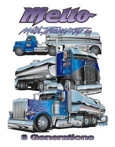 Mello Milk Transport - 3 Generations