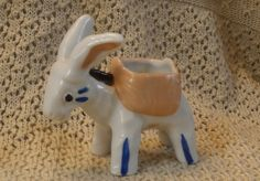 Brooch vintage donkey