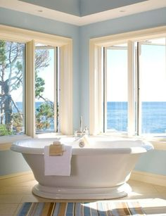 tub with view