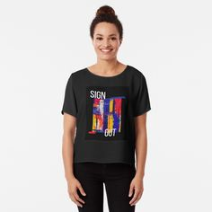 Promote | Redbubble Enjoy Your Life, Graphic Tees, Mens Tops, Women, Sign, Fashion, Moda, Fashion Styles, Signs