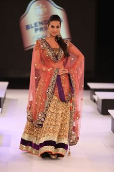 Really like this pink outfit by Vikram Phadnis