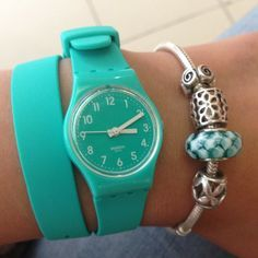 Swatch® US - MINT LEAVE - LL115 I've gotten more compliments on my Swatch wrap watch than any other watch I've owned. Love it!