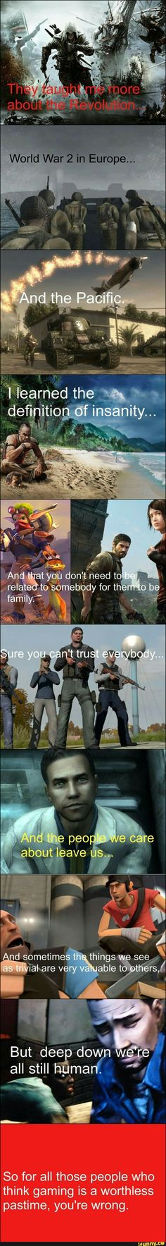 Keep on keeping on, gamers Video Game Quotes, Video Game Logic, Video Games Funny, Video Game Art, Funny Games, Video Games Xbox, Geek Culture, I Am Game, Gaming Memes