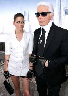 Chanel y Kristen Stewart para la colección Paris-Dallas