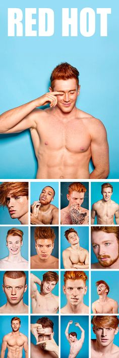 RED HOT EXHIBITION Dec. 16 - Dec 22 | 1 WEEK OF GINGER MALE LOVE