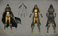 D'Vorah Clothed Concept from Mortal Kombat X