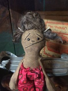 """Home Haircut."" Love this handmade doll on Etsy!!!"
