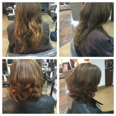 Restyle and colour and cut