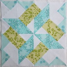 from blank pages...: Starry Skyline Block Tutorial