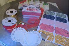 Creatief bezig met DIY met Stampin' up! Zelf trouwbedankjes maken (wedding favors), ideeen voor een babyshower of verjaardagsfeestje