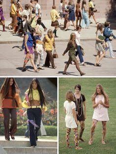 High School Fashion From 1969