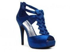 royal blue shoes for wedding   BLEU ~ Wedding Ideas   Weddbook.com