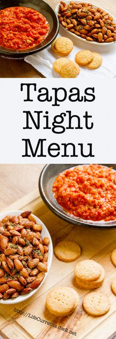 Tapas Night Menu more than 25 GREAT recipes for Tapas night or appetizers for any party or gathering. Stop by and be inspired!
