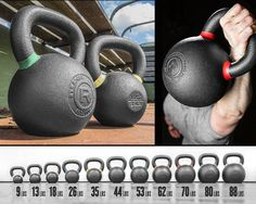 Rogue Kettlebells  Time to upgrade to a heavier Kettlebell. Might be good for interval progression.