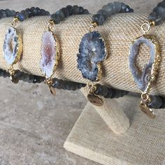 No filter here on our Agate Collection - Smoky Bracelet! Exclusively available @kinsleyarmelle link in bio!