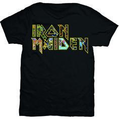 Iron Maiden Men's Tee: Eddie Logo Wholesale Ref:IMTEE45MB