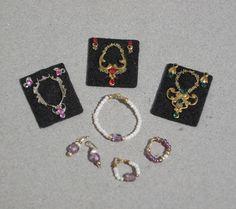Dollhouse Jewelry 1:12 Scale Miniature Necklace Twelfth Scale
