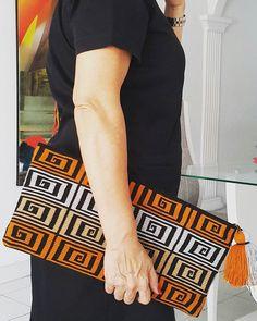 Wayuu Mochila Clutch #bags #bohochic #tendencia #sobres