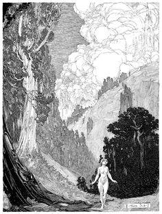 ixgart: ART HISTORY: Franklin Booth (1874-1948)