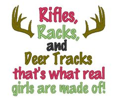 Instant Download Rifles Racks and Deer by ChickpeaEmbroidery, $3.50